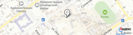Салон-магазин на карте Михайловска