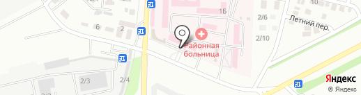 Поликлиника на карте Михайловска
