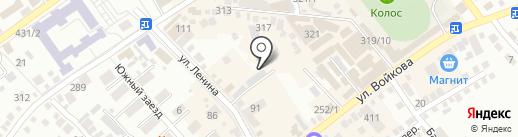 Сот-лайн на карте Михайловска