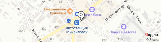 Мир на ладони на карте Михайловска