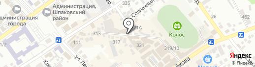 Наира на карте Михайловска