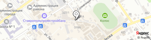 ИZюминка на карте Михайловска