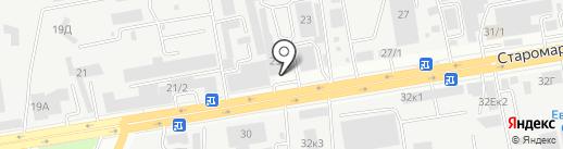 ЮМАКОМ-СТАВРОПОЛЬ на карте Ставрополя