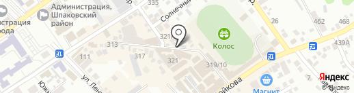 Магмус на карте Михайловска