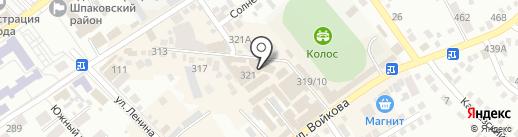 Дивный на карте Михайловска