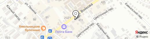 Эпатаж на карте Михайловска