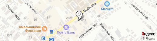 Маркиза на карте Михайловска