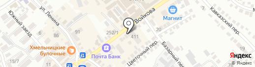 Амалия на карте Михайловска