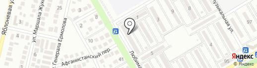 Логос на карте Михайловска
