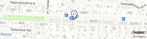 Реноме на карте Ставрополя