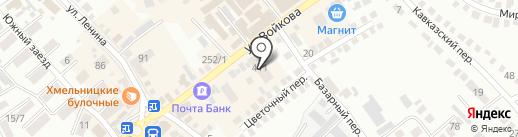 Шатура на карте Михайловска
