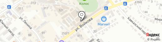 Поплавок на карте Михайловска