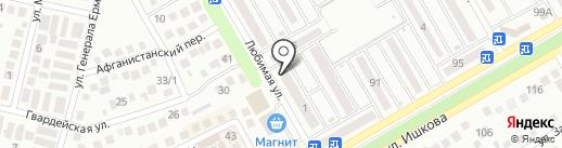 Огонек на карте Михайловска