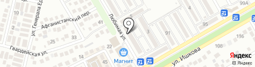 Пивной Рай на карте Михайловска