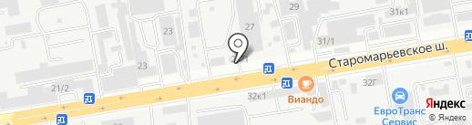 ФЕРРАТЕК на карте Ставрополя