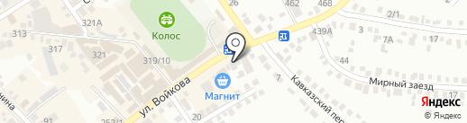 Гиро Хаус на карте Михайловска