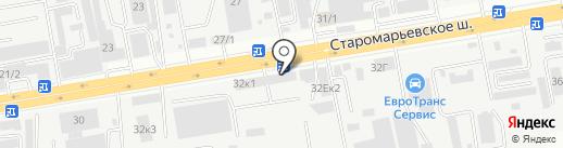 Тент СК на карте Ставрополя