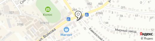 СУШИ ХОМ на карте Михайловска