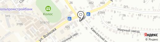 Конфетка на карте Михайловска