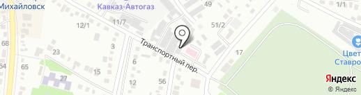 Аура на карте Михайловска