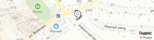 Ветеринарная аптека на карте Михайловска