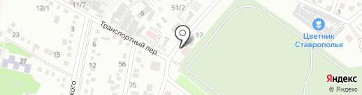 Поминальный зал на карте Михайловска