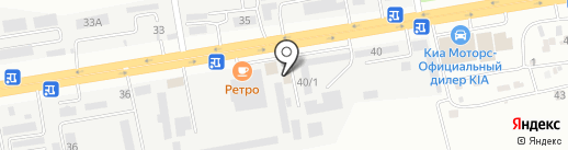 Лотос на карте Ставрополя
