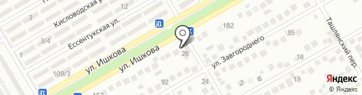 Торгово-установочный центр на карте Михайловска
