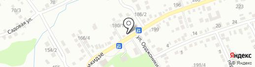 Почтовое отделение №3 на карте Михайловска