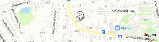 Мишутка на карте Михайловска