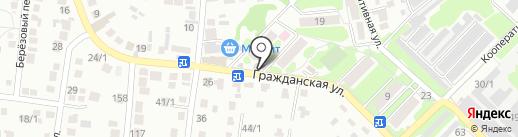 АСТРО на карте Михайловска