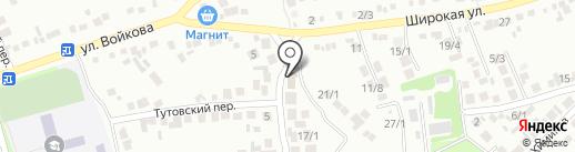 МКС на карте Михайловска
