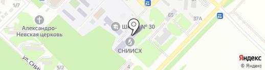 СНИИСХ на карте Михайловска