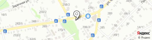 Санстиль на карте Михайловска