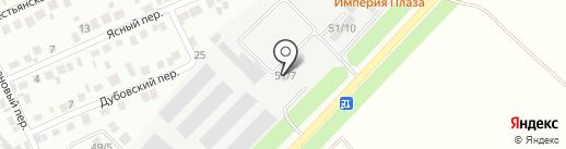 Чизберри на карте Михайловска