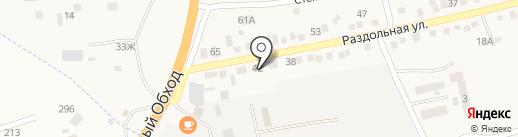 Магазин мебели на карте Надежды