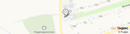 Склад-магазин на карте Надежды