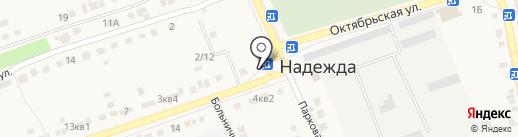 Круг на карте Надежды