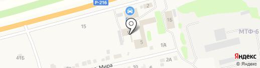 Автокомплекс на карте Надежды
