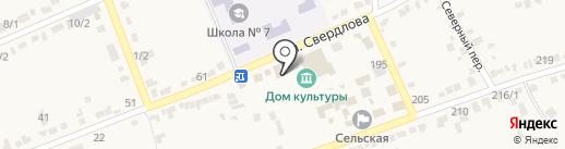 МКС на карте Старомарьевки