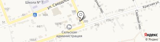 Мясная лавка на карте Старомарьевки