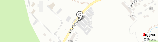 Южный на карте Кисловодска