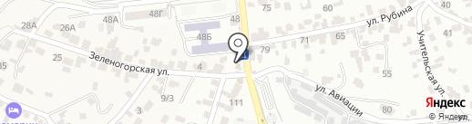 М5 на карте Кисловодска