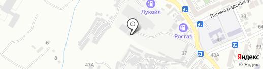 Цех металлоизделий на карте Кисловодска