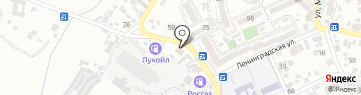 Рам-Ис на карте Кисловодска