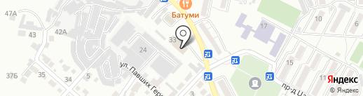 Пожарная часть №1 на карте Кисловодска