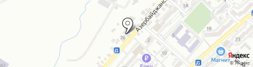Химчистка-прачечная на карте Кисловодска
