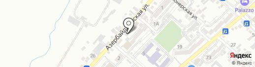 Пункт приема вторсырья на карте Кисловодска
