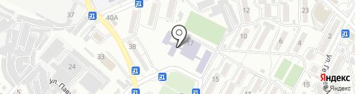 Средняя общеобразовательная школа №15 с углубленным изучением отдельных предметов на карте Кисловодска