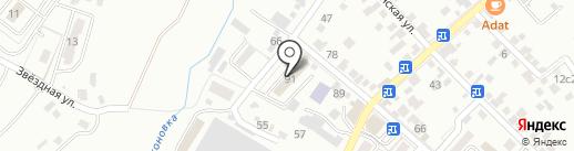 СКФУ на карте Кисловодска